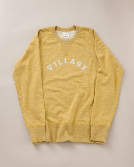 SWEATSHIRT VILLAGE JAUNE IMPERIAL