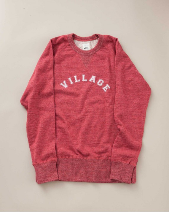 SWEATSHIRT ALI ROUGE GROSEILLE