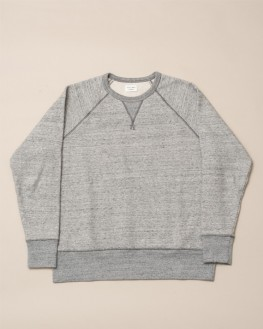 SWEATSHIRT VILLAGE GRIS CHINÉ